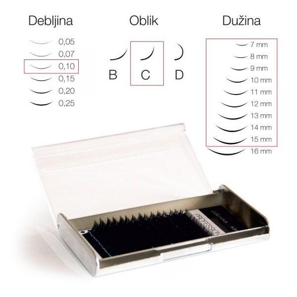 TREPAVICE SILK 16 LINIJA 0,10-7-15mm