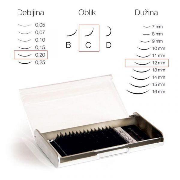 TREPAVICE SILK 16 LINIJA 0,25-7-15mm